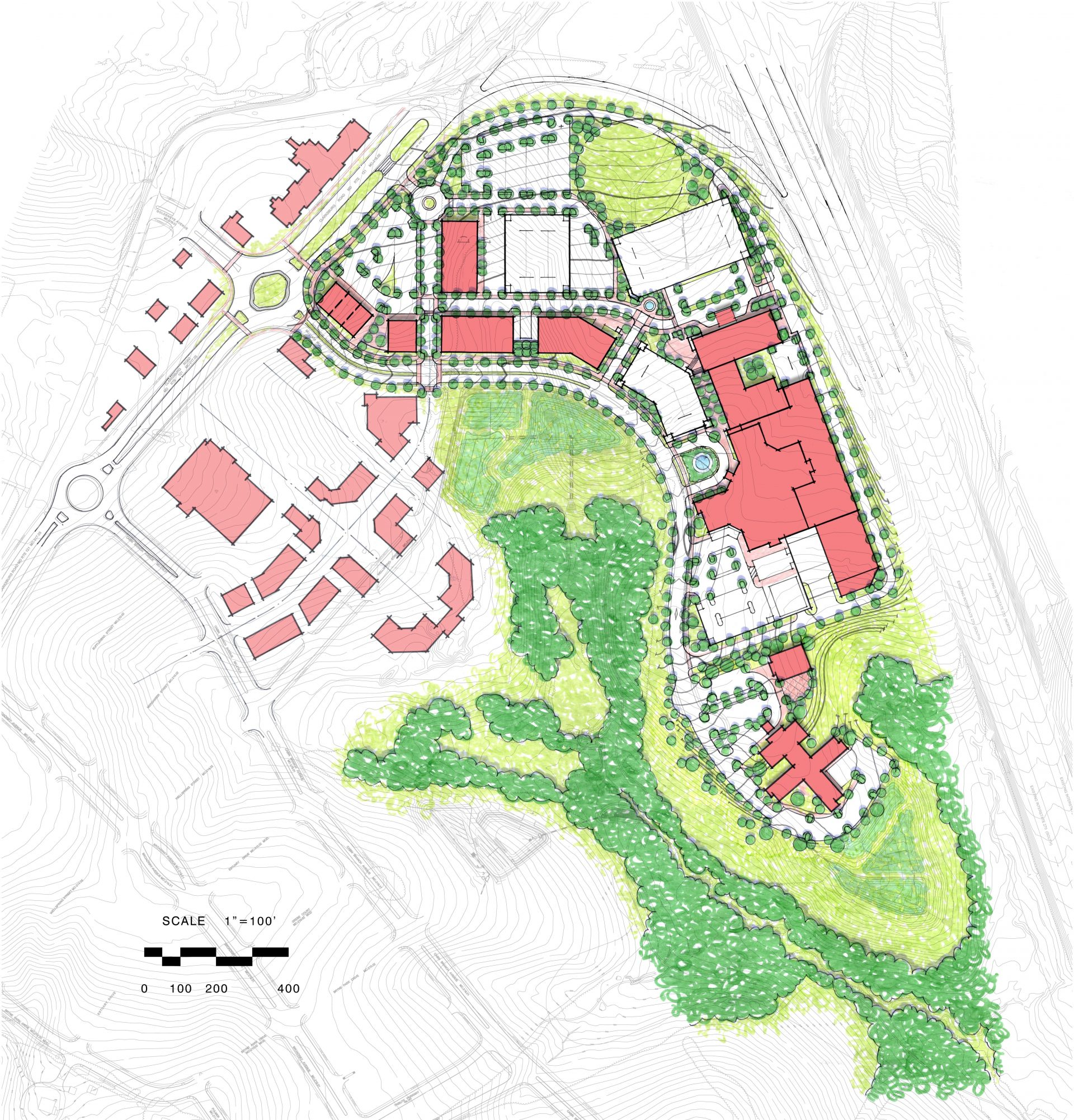 Cabin Branch Medical Campus Master Plan